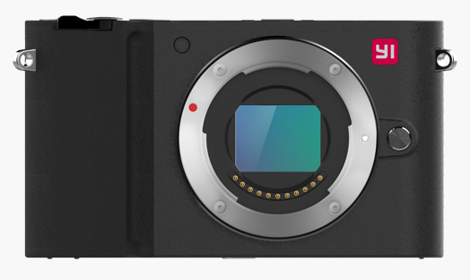 YI Camera Mirrorless, coloris Storm Black