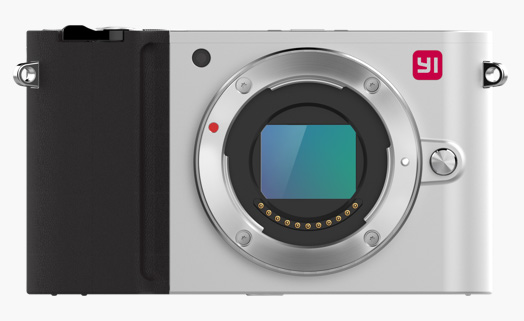 YI Camera Mirrorless, coloris Ice Silver