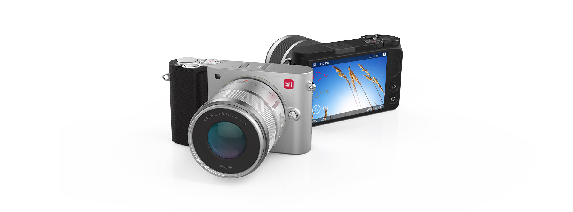 L'appareil photo YI M1 Mirrorless par YI technology